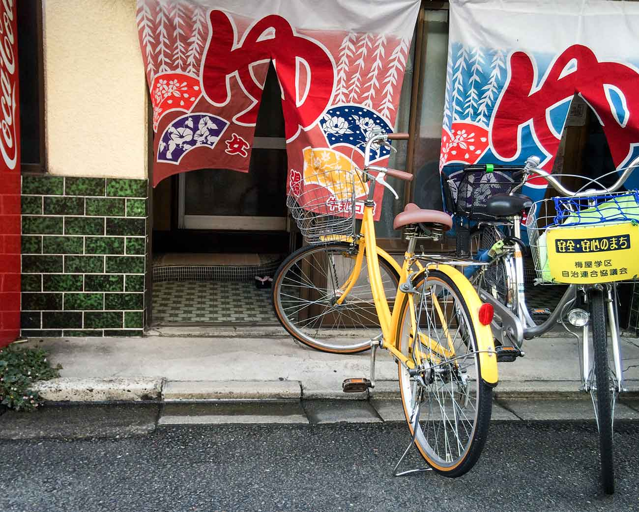Bicycles-in-Kyoto